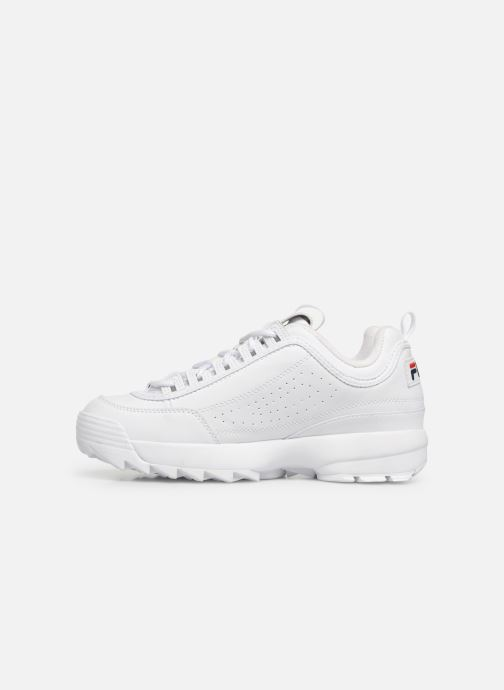 Baskets FILA Disruptor Low M Blanc vue face