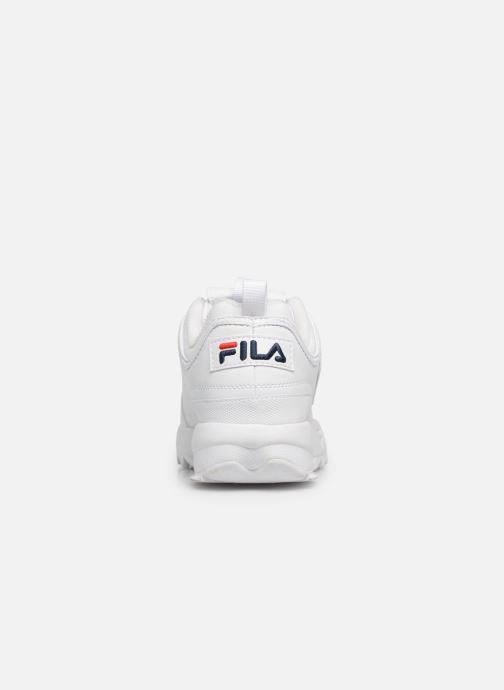 Baskets FILA Disruptor Low M Blanc vue droite
