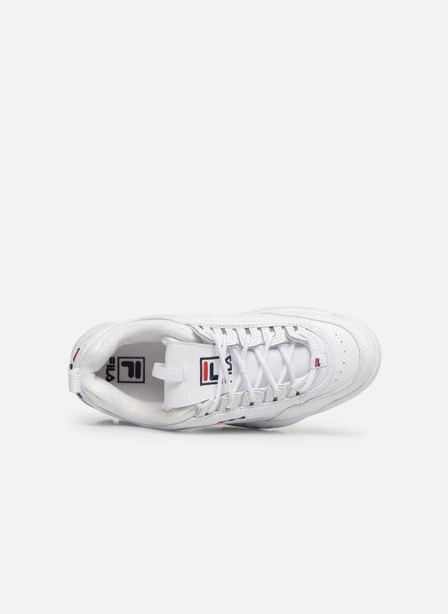 Sneaker FILA Disruptor Low M weiß ansicht von links