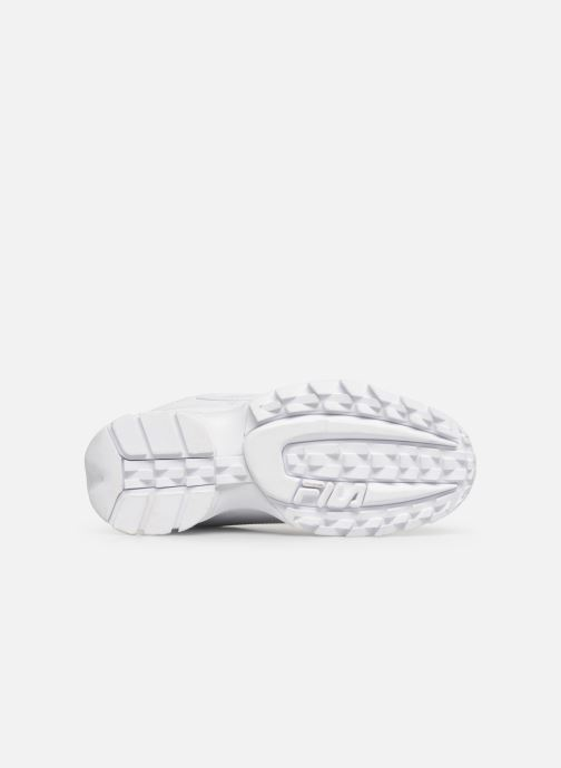 Baskets FILA Disruptor Low M Blanc vue haut