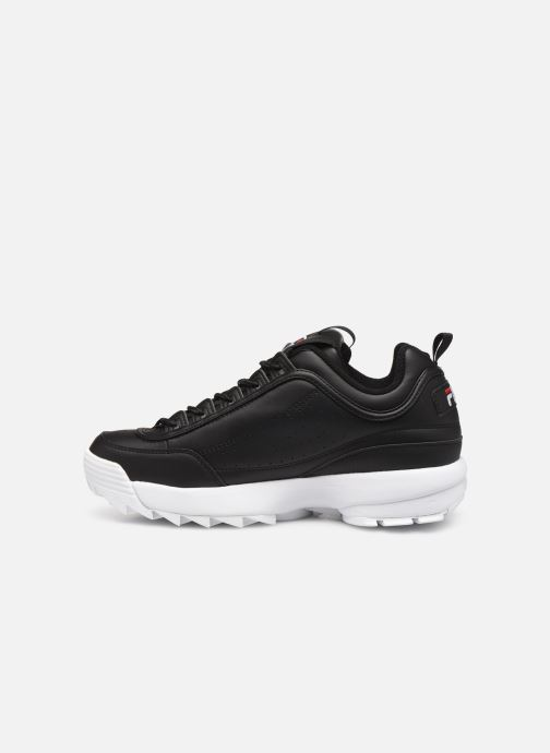 Baskets FILA Disruptor Low M Noir vue face