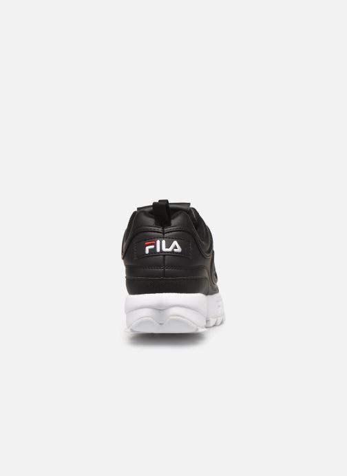 Sneakers FILA Disruptor Low M Nero immagine destra
