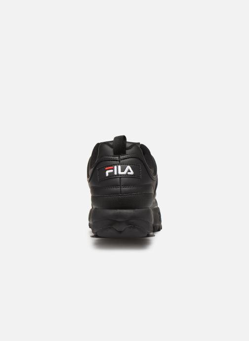 Baskets FILA Disruptor Low M Noir vue droite