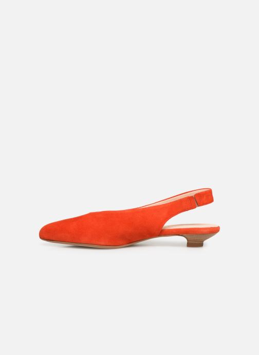 Zapatos de tacón Georgia Rose Amalfia Naranja vista de frente