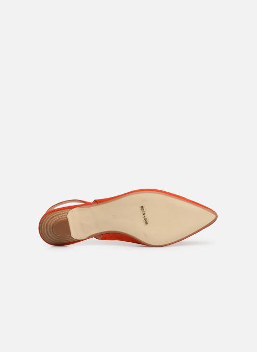 Zapatos de tacón Georgia Rose Amalfia Naranja vista de arriba