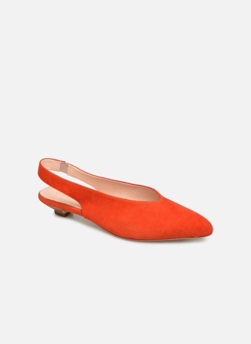Zapatos de tacón Georgia Rose Amalfia Naranja vista de detalle / par