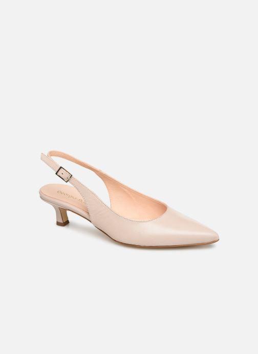 Høje hæle Georgia Rose Augustina Beige detaljeret billede af skoene
