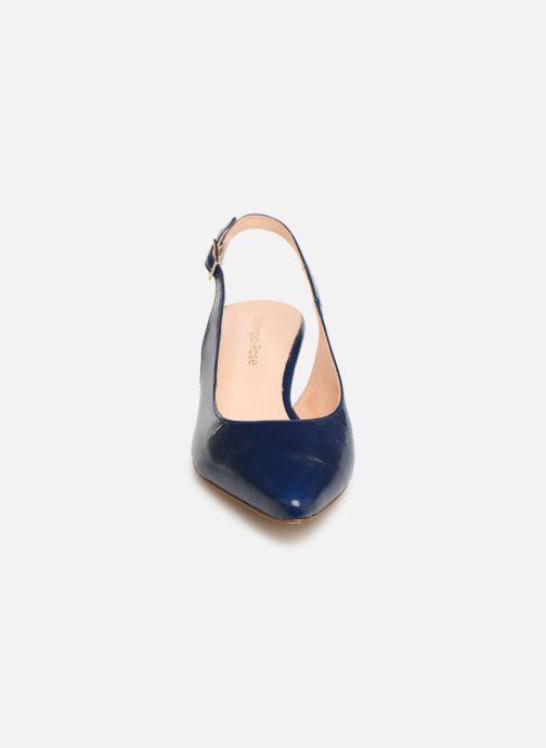Escarpins Georgia Rose Augustina Bleu vue portées chaussures