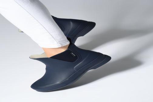 Bottines et boots Tretorn Eva Lag Noir vue bas / vue portée sac