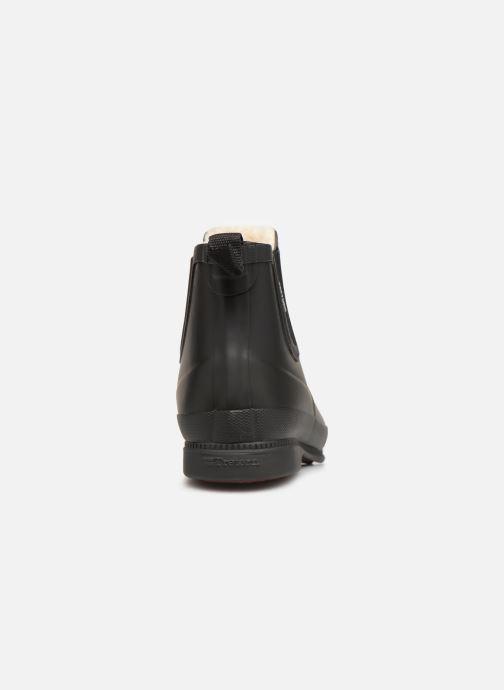 Bottines et boots Tretorn Eva Classic Leather Noir vue droite