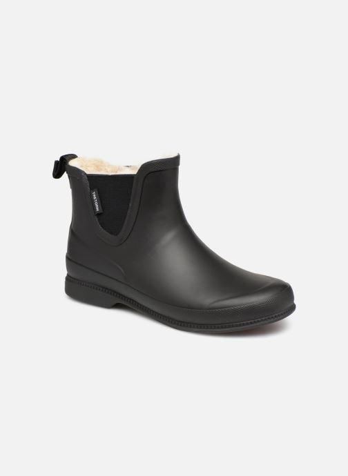 Bottines et boots Tretorn Eva Classic Leather Noir vue détail/paire