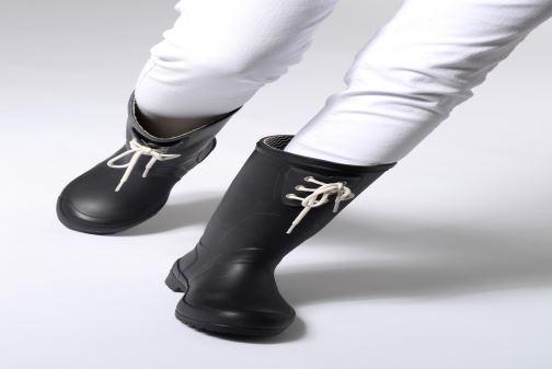 Stiefel Tretorn Lilly schwarz ansicht von unten / tasche getragen