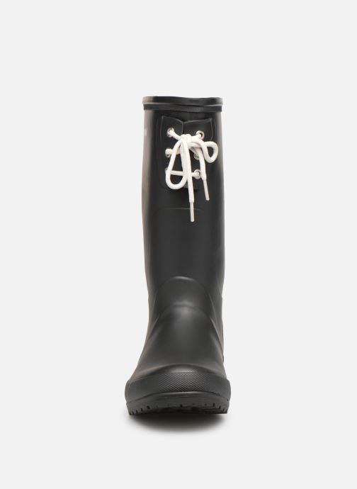 Bottes Tretorn Lilly Noir vue portées chaussures
