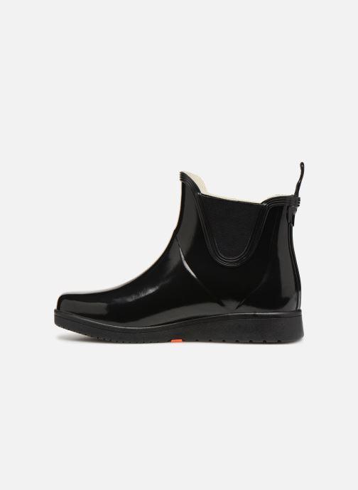 Bottines et boots Tretorn Charlie Classic Patent Noir vue face