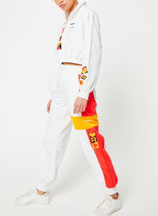 Vêtements Reebok Gigi Track Pants Blanc vue bas / vue portée sac