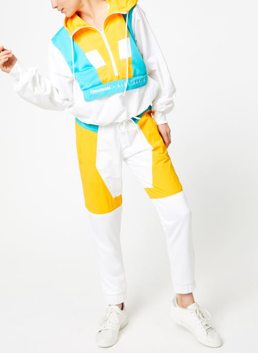 Vêtements Reebok Gigi Cover Up Blanc vue bas / vue portée sac
