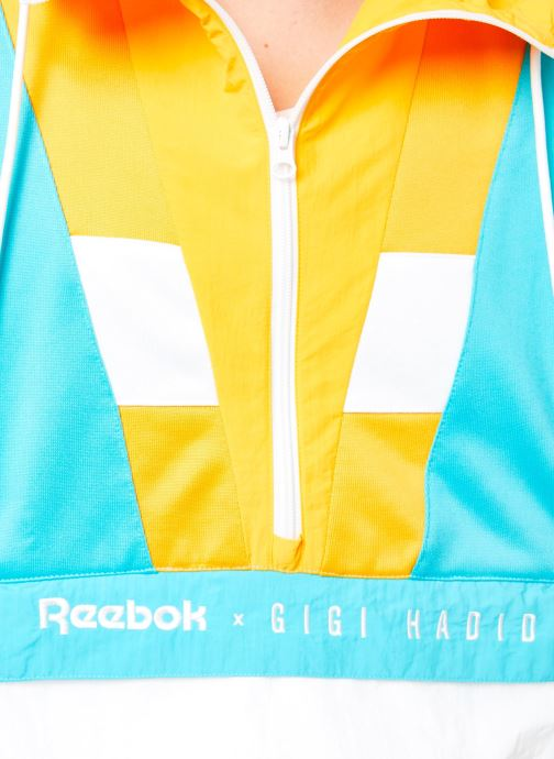 Vêtements Reebok Gigi Cover Up Blanc vue face