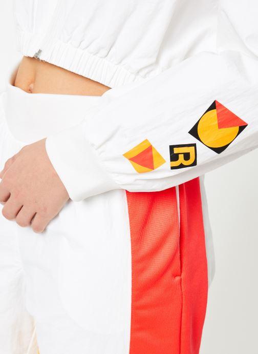 Vêtements Reebok Gigi Trackjacket Blanc vue face