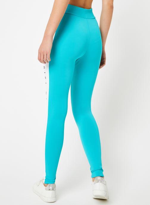 Vêtements Reebok Gigi Legging Bleu vue portées chaussures