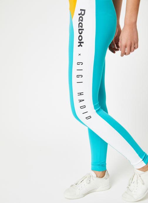 Vêtements Reebok Gigi Legging Bleu vue détail/paire