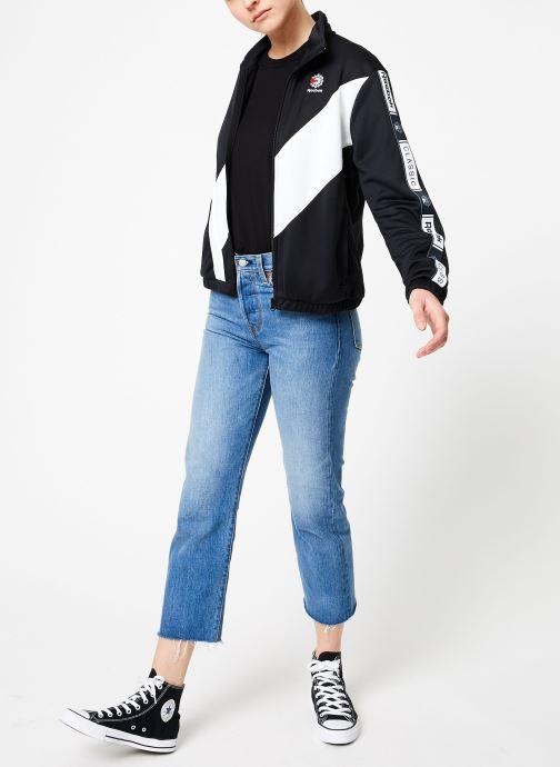 Vêtements Reebok CL Tracktop Noir vue bas / vue portée sac