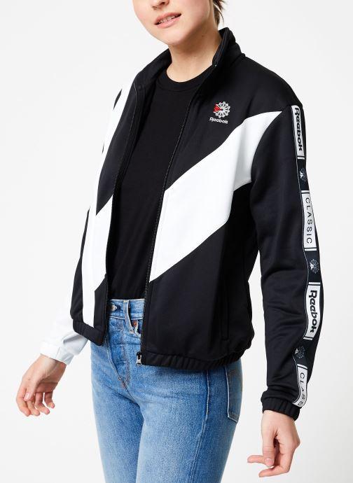 Vêtements Reebok CL Tracktop Noir vue droite