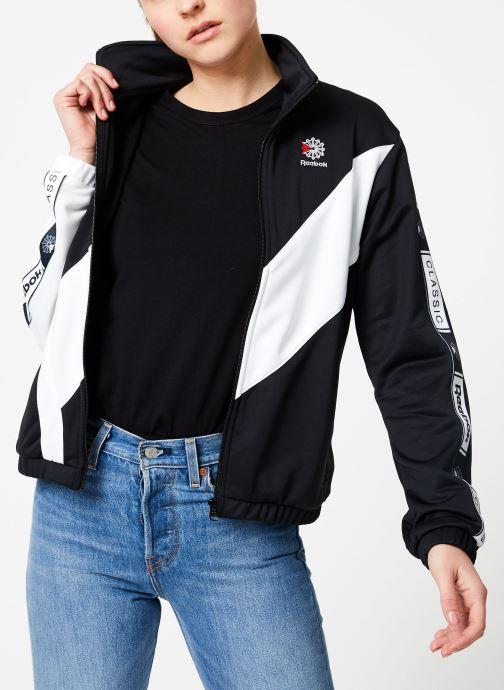 Vêtements Reebok CL Tracktop Noir vue détail/paire