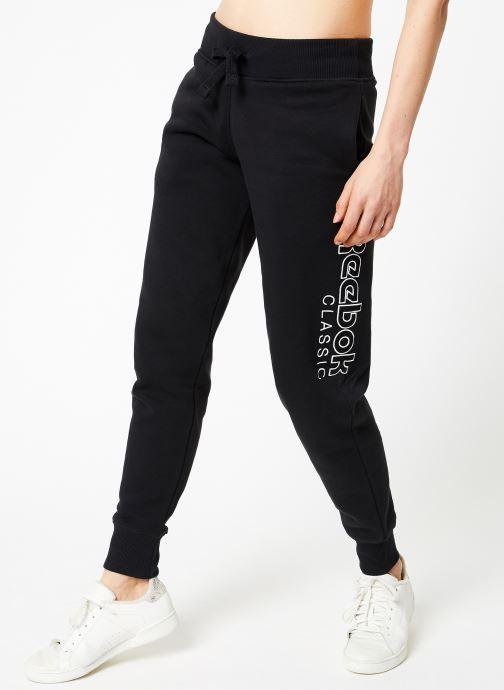 Vêtements Reebok AC GR Pant Noir vue détail/paire