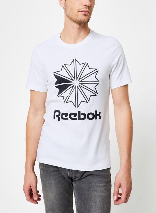 Kleding Reebok CL Big Logo Tee Wit detail