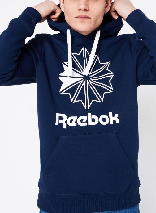 Vêtements Reebok C Big Logo Hoodie Bleu vue détail/paire