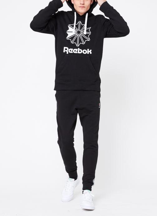 Vêtements Reebok C Big Logo Hoodie Noir vue bas / vue portée sac
