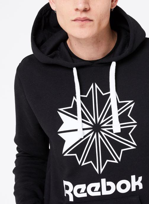 Vêtements Reebok C Big Logo Hoodie Noir vue face