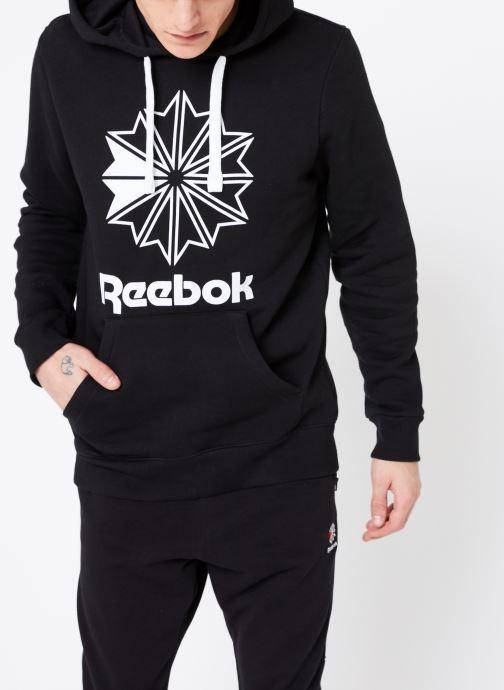 Vêtements Reebok C Big Logo Hoodie Noir vue détail/paire