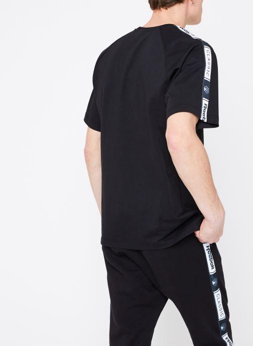 Kleding Reebok CL Taped Pee Zwart model