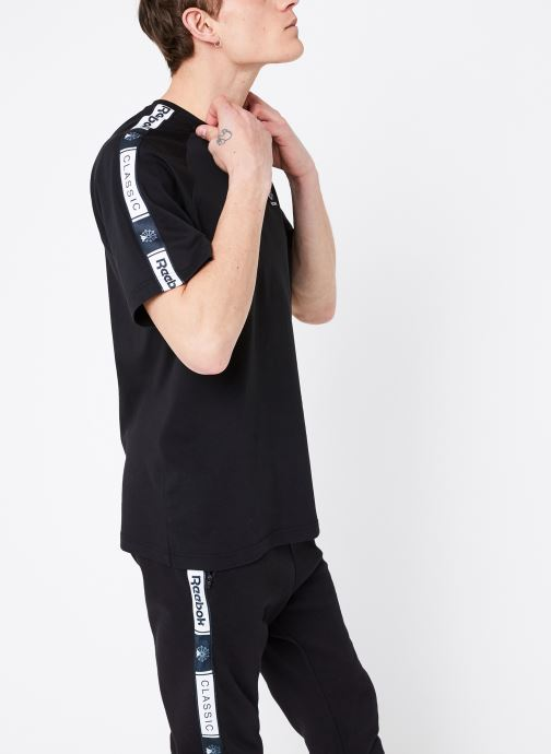 Vêtements Reebok CL Taped Pee Noir vue détail/paire