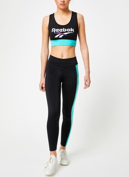 Vêtements Reebok CL V Legging Noir vue bas / vue portée sac