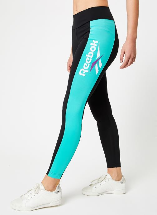 Vêtements Reebok CL V Legging Noir vue détail/paire