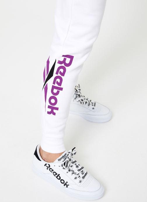 Vêtements Reebok CL V P Jogger Blanc vue face