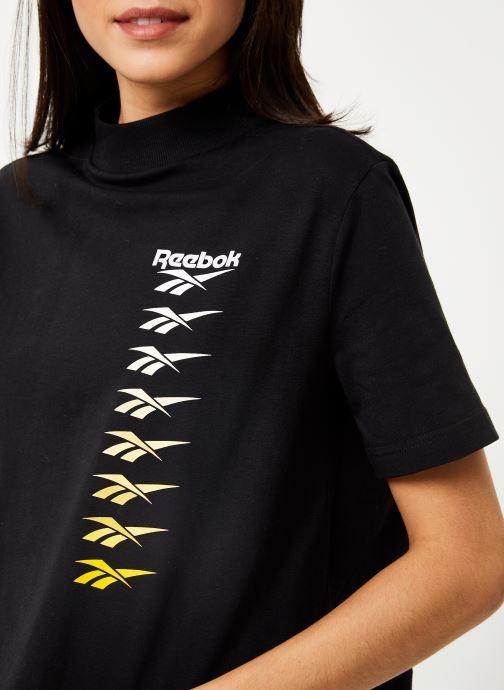 Reebok T-shirt - CL V P Cropeed Tee (Noir) - Vêtements chez Sarenza (398345) t8U1G