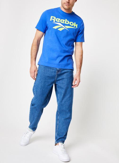 Reebok T-shirt - CL V Tee (Bleu) - Vêtements (361239)
