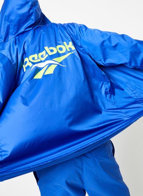Kleding Reebok CI V Windbreaker Blauw detail