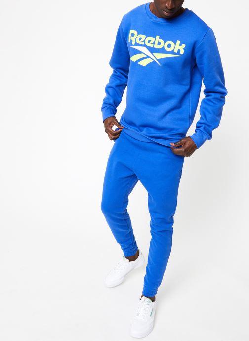 Vêtements Reebok CL V Crewneck Jumper Bleu vue bas / vue portée sac