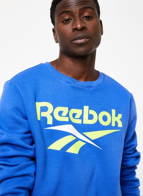 Vêtements Reebok CL V Crewneck Jumper Bleu vue face