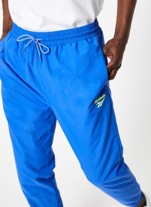 Vêtements Reebok CI Unisex V Trackpant Bleu vue face