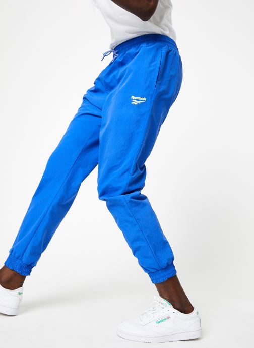 Vêtements Reebok CI Unisex V Trackpant Bleu vue détail/paire