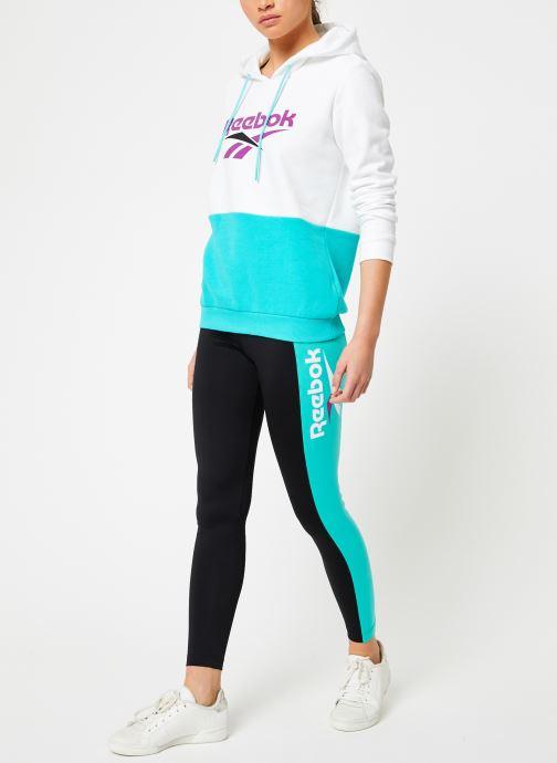 Reebok Sweatshirt hoodie - Cl V P Hoodie (Blanc) - Vêtements (361259)