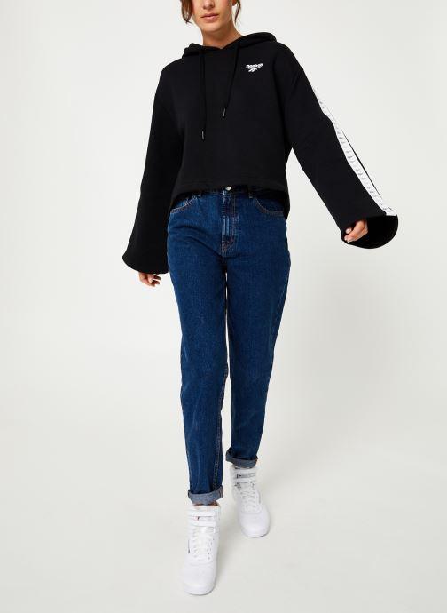 Reebok Sweatshirt hoodie - CL V P Hoodie (Noir) - Vêtements (398349)
