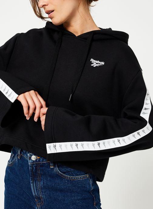 Vêtements Reebok CL V P Hoodie Noir vue détail/paire