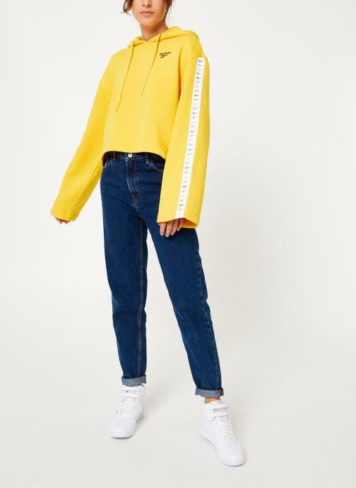 Reebok Sweatshirt hoodie - CL V P Hoodie (Jaune) - Vêtements (398350)