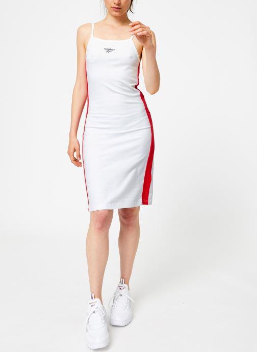 Vêtements Reebok CL V P Dress Blanc vue bas / vue portée sac